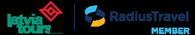 LatviaTours Radius Logo